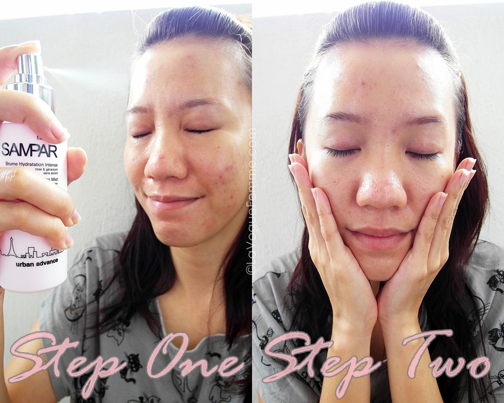 Sampar Skin Quenching Mist - How To Use