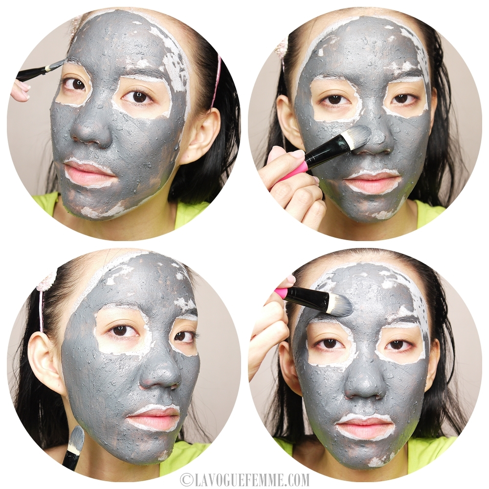 GlamGlow Supermud Clearing Treatment Application