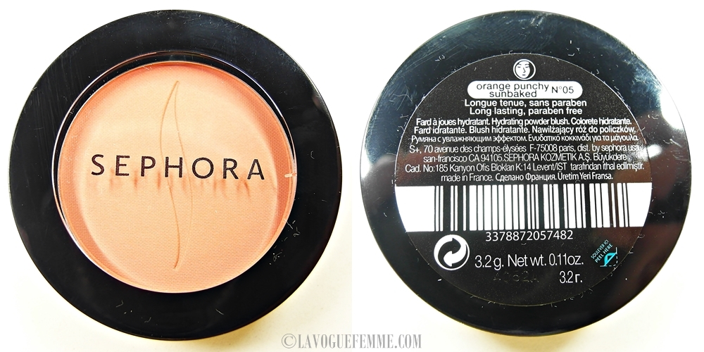 SEPHORA COLLECTION Colorful Blush Orange Punchy Sunbaked 2