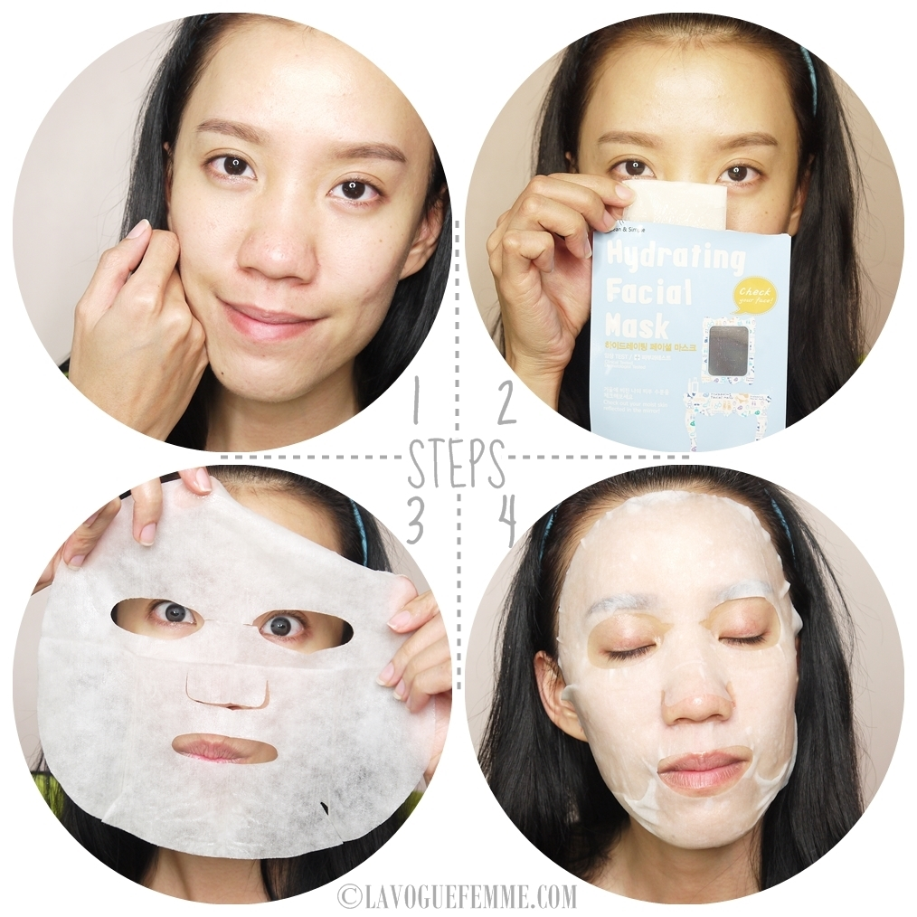 Cettua Hydrating Facial Mask How To