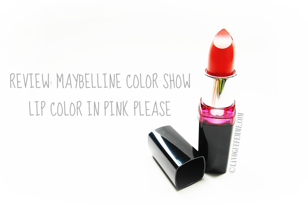 Maybelline Color Show Lip Color in Pink Please