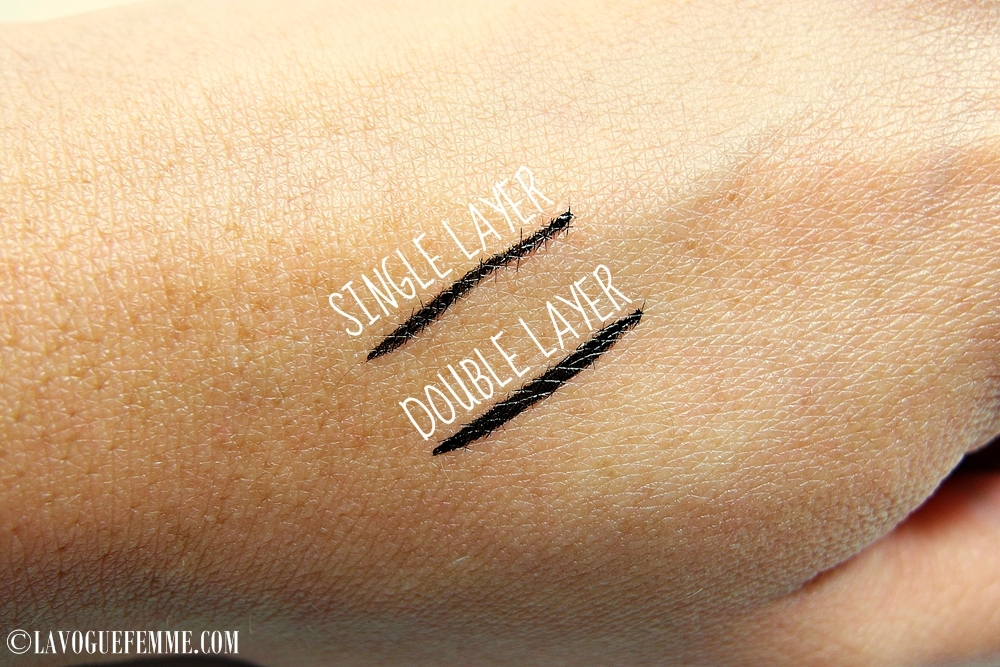 Stila Stay All Day Waterproof Liquid Eye Liner Swatch