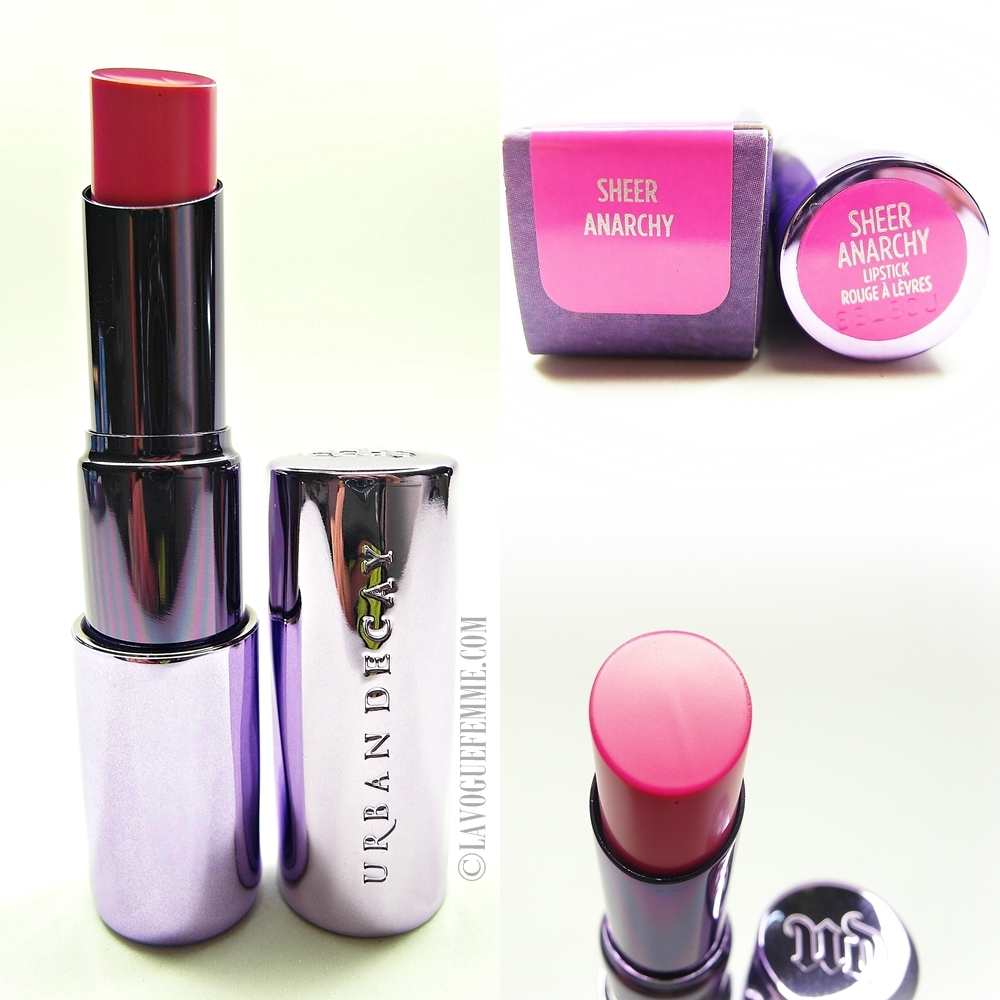 Urban Decay Sheer Revolution Lipstick Sheer Anarchy