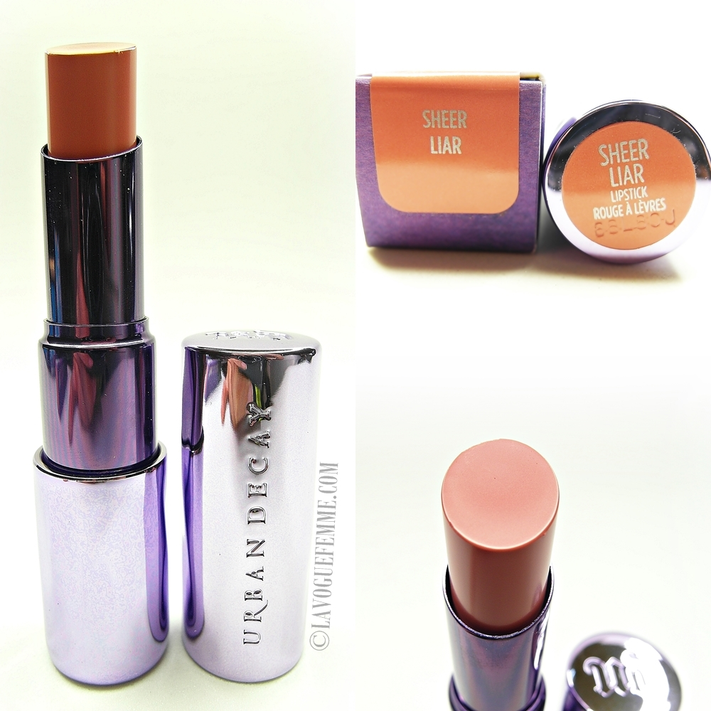 Urban Decay Sheer Revolution Lipstick Sheer Liar