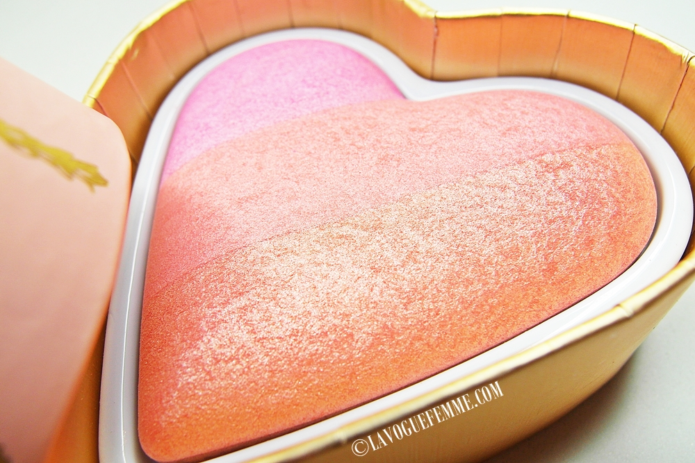 Too Faced Sweethearts Perfect Flush Blush in Candy Glow Close Up